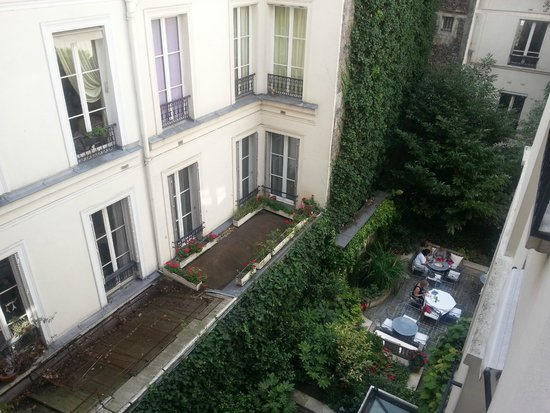 Hotel de l'Abbaye Saint-Germain : Inner Court