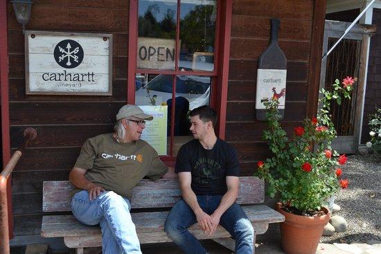 Carhartt Vineyard: Mike and Chase Carhartt