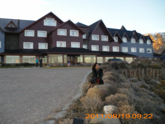 Alto Calafate Hotel Patagonico: el frente del hotel