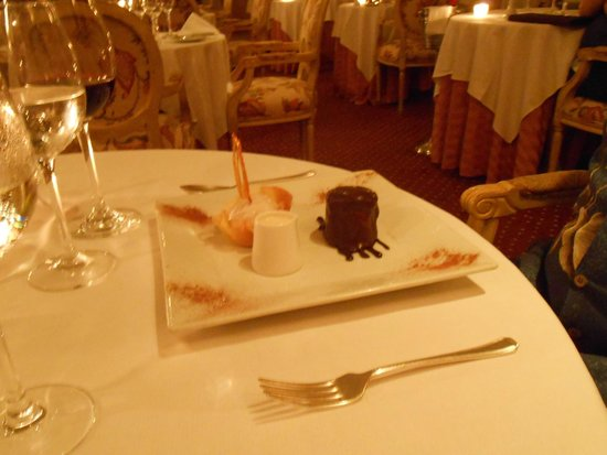The Trysting Place, Rendezvous Resort : A Chocolate Delight