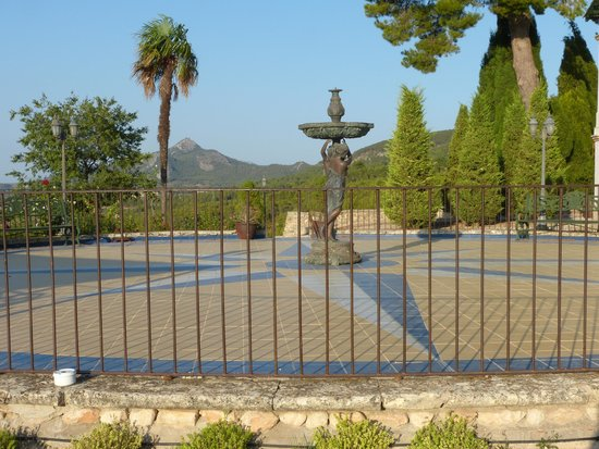 Hotel Rural Masia La Mota: The terrace