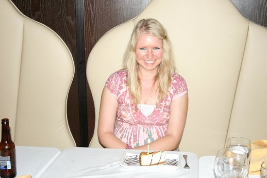 La Piazza Cafe : Birthday Girl at our Convention Cmt Appreciation Dinner