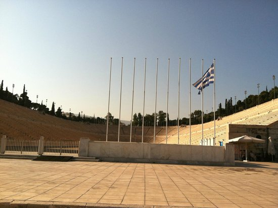 Panathenaic Stadium: Pictures cannot capture the size of this!