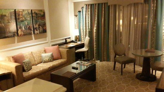 The Venetian Las Vegas: Sala da Suite