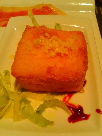 Taberna de Jam: Croqueta cuatro quesos ¡Excelente!