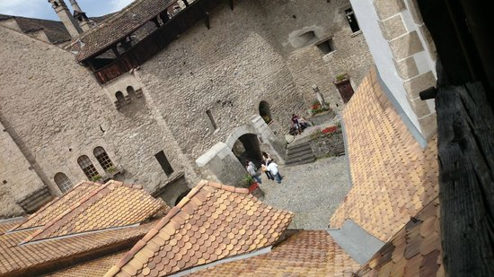 Chateau de Chillon : Pátio interno