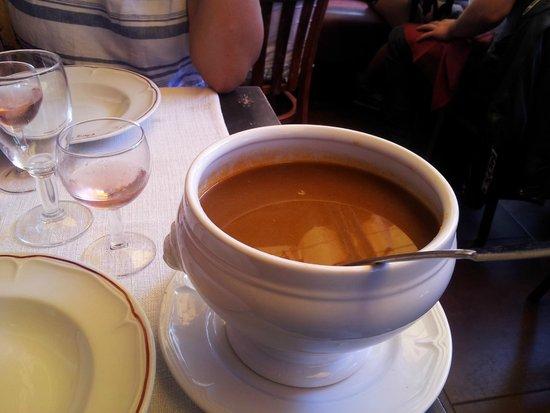Chez Cesar : Fish soup