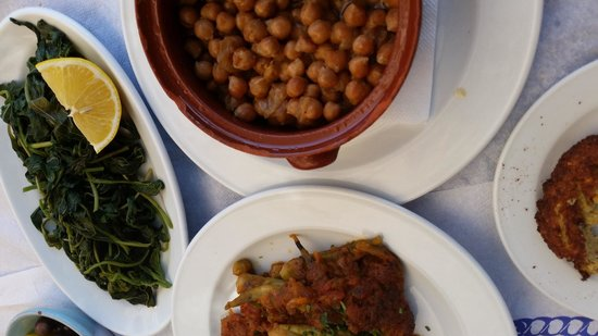 Water & Salt: Ocra, Blita, and the marvelous chick peas