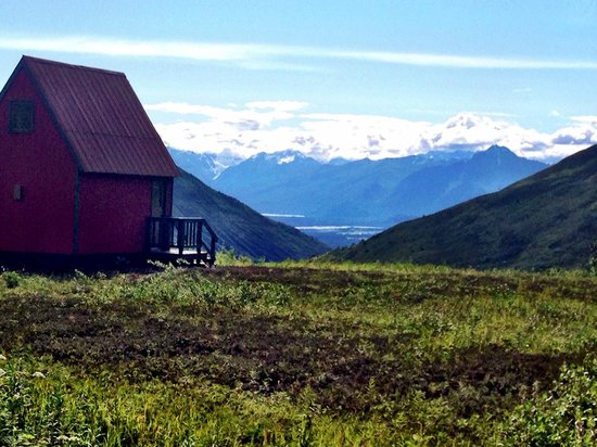 Hatcher Pass Lodge: View from the cabins