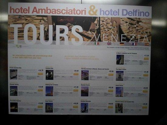 Quality Hotel Delfino Venezia Mestre: recep