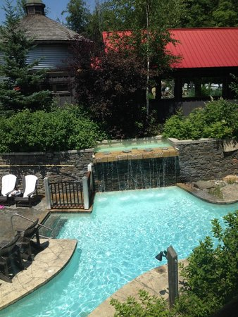 Scandinave Spa at Blue Mountain: cold pool