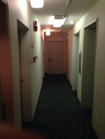Tropicana Suite Hotel : Hallway