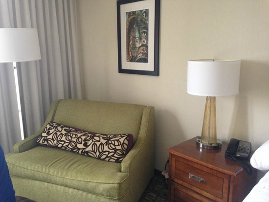 Tampa Airport Marriott: Sitting area