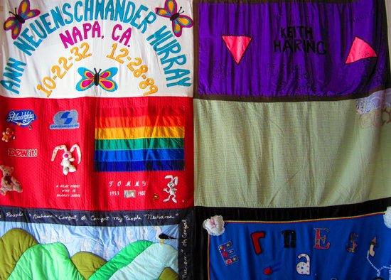 Cruisin' The Castro Walking Tours: AIDS Quilt