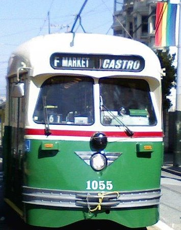 Cruisin' The Castro Walking Tours: The F-Line Street Car