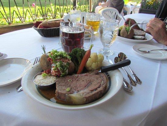Tonquin Inn : kalter Steak