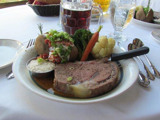Tonquin Inn : gekochter Steak