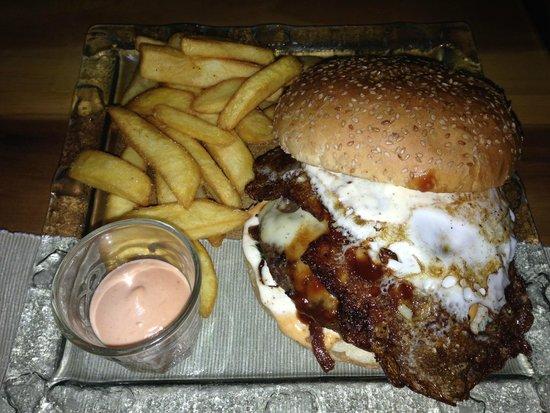 Efstidalur II: Hamburger