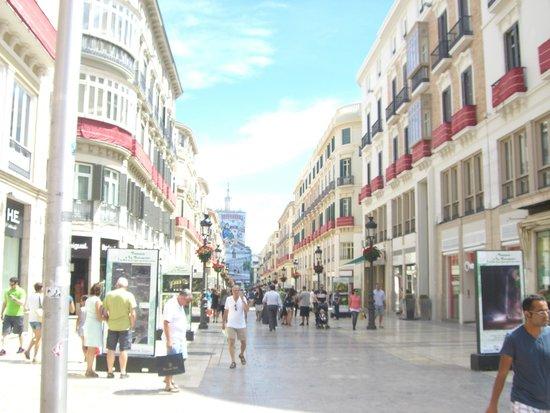 Calle Larios: A SHOPPER'S PARADISE