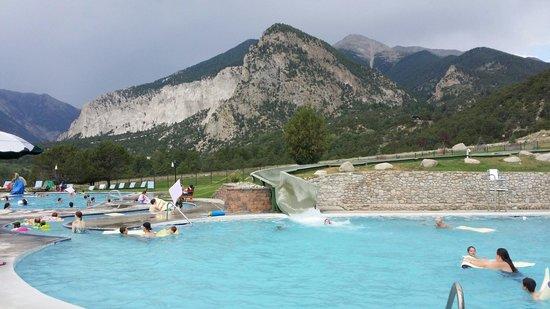 Mount Princeton Historic Bath House & Hot Springs: Slide area