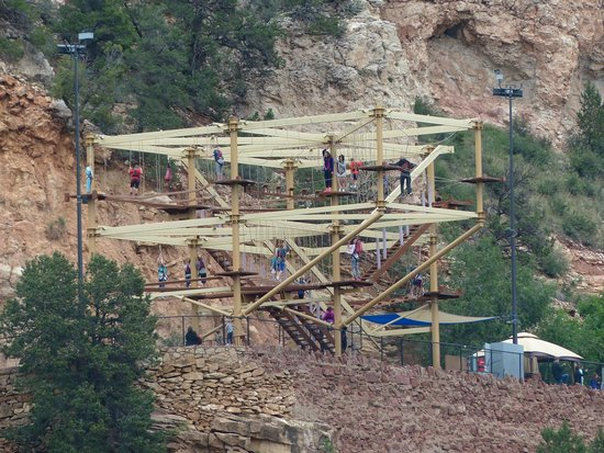 Cave of the Winds: Wind Walker Challenge Course