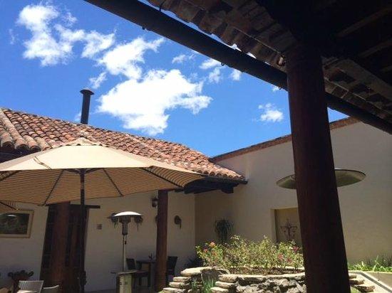 Tierra y Cielo Restaurante : El lugar acogedor!
