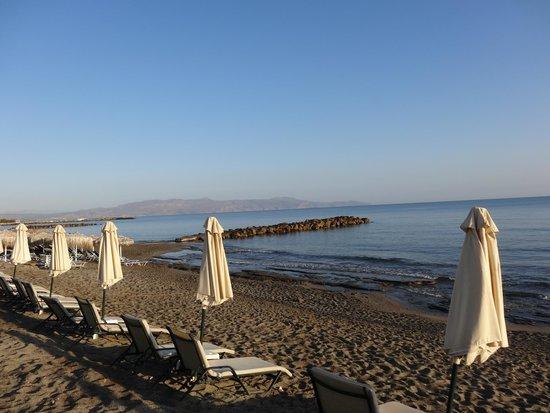 Thalassa Beach Resort: Plage