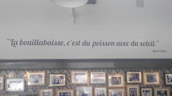 Chez Fonfon: Bouillabaisse, dat is vis met zonneschijn!