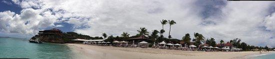 Eden Rock - St Barths: praia do hotel