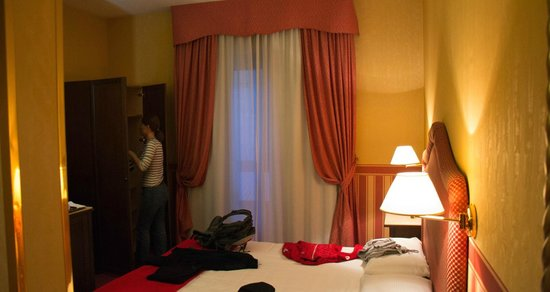 Hotel Tritone: Room