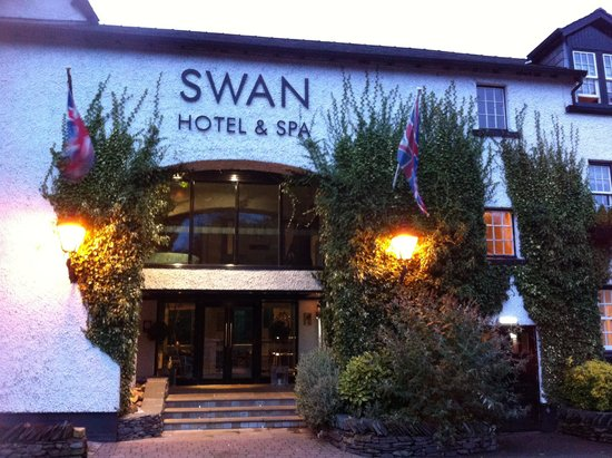 Swan Hotel & Spa: Front