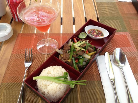 Novotel Phuket Surin Beach Resort.: almoço