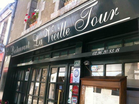 La Vieille Tour : la facade