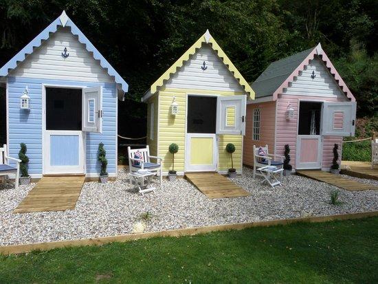 The Hall at Abbey-Cwm-Hir: The Beach Huts