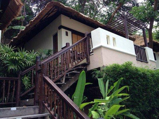 Le Vimarn Cottages & Spa : ห้องพัก ชั้นบนสุดเดินขึ้นบันไดไกลหน่อย