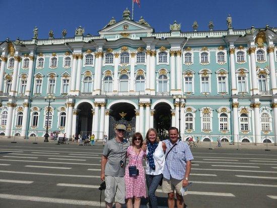 Alla Tours : Catherine Palace, David, Lesley, Kirstie, David