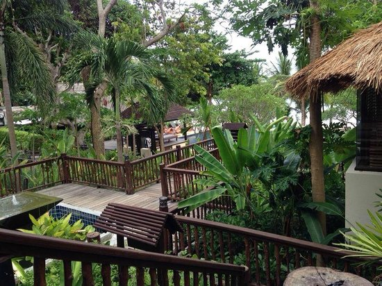 Le Vimarn Cottages & Spa : บริเวณห้องพัก
