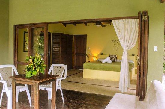 Gumbo Limbo Villas: Main bedroom of Villa Indio, our 2BR villa