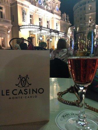Cafe de Paris Monte-Carlo : the view from cafe de paris to casino square
