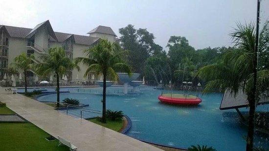 Recanto Cataratas Thermas Resort & Convention : Mesmo em dia de chuva, aproveitei o Resort!
