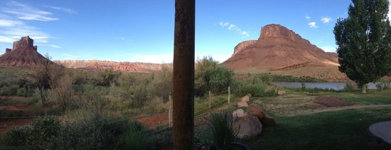 Sorrel River Ranch Resort and Spa: View from Family River View Cabin E-2