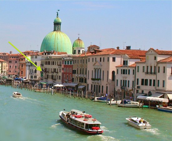 Hotel Carlton on the Grand Canal : Carlton grand canal Venise