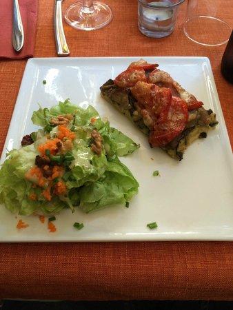 L'instant Délice : Entrée du menu végétarien