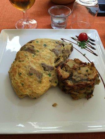 L'instant Délice : Omelette aux cèpes