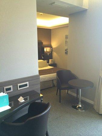 Hotel Artemide: Double Deluxe room.