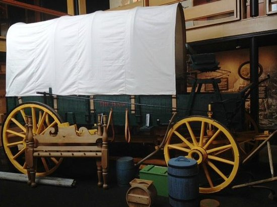 Douglas County Museum of History & Natural History: covered wagon