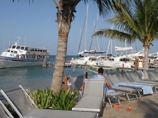 Cancun Bay Resort: embarcadero