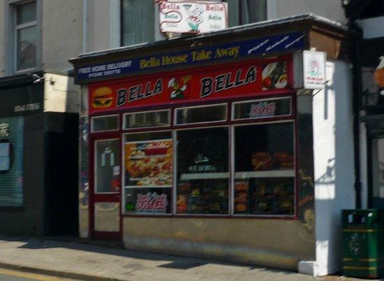 Bella House Takeaway Upper Bangor Picture Of Bella House
