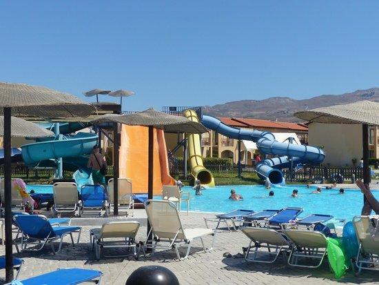 Labranda Marine Aquapark Resort : coin tobogan et des petits
