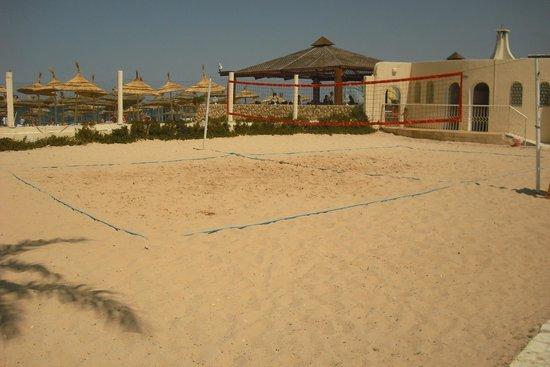 Hotel Abou Sofiane : beach volleyball